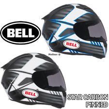 Bell Star Carbon Pinned Helmet All Colors and Sizes Motorcycle Helmets
