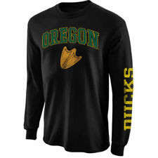 Oregon Ducks Black Arch & Logo Long Sleeve T-Shirt - College