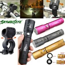 Adjustable Focus Flashlight Zoomable 12000 Lumens 3mode XML T6 LED 18650 Torch %