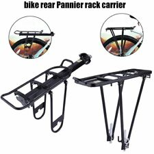 Black Bicycle cycle rear pannier rack carrier 10/25kg  Seat Post Pannier Rack BY