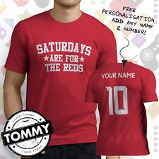 Liverpool Fan T-Shirt, Saturdays Are For, Liverpool Reds Football tshirt,