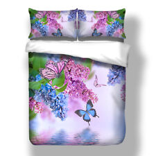 Nature Duvet/Quilt/Comforter Cover Pillow Cases Queen King Size Bedding Set New