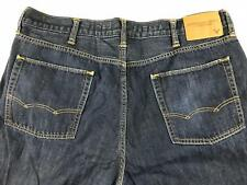 AMERICAN EAGLE Mens Original Straight Dark Wash Blue Jeans 38/32 (40x30) Actual