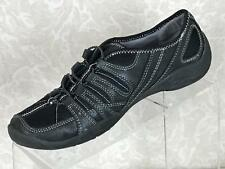 PRIVO BY CLARKS Womens Black Leather Slip On Sneakers Walking Shoes Size 8M