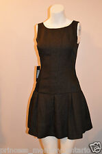 GUESS by Marciano Black Dress Fit and Flare Dropwaist Size 4 S