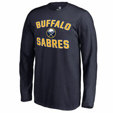 Fanatics Branded Buffalo Sabres Youth Navy Victory Arch Long Sleeve T-Shirt