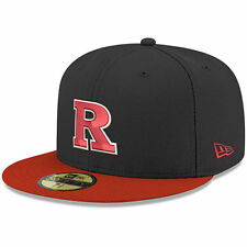 New Era Rutgers Scarlet Knights Black/Scarlet NCAA Basic 59FIFTY GCP Fitted Hat