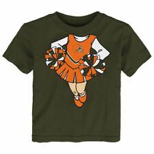 Cleveland Browns Girls Toddler Brown Cheerleader Dreams T-Shirt - NFL