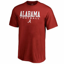 Fanatics Branded Alabama Crimson Tide Youth Crimson True Sport Football T-Shirt