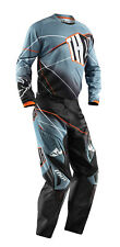 Thor Steel Grey Black Phase Prism Mens & Youth Dirt Bike Jersey & Pants MX ATV