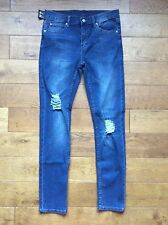 CHEAP MONDAY JEANS CARBON BLUE STYLE TIGHT Was £59 Now £35 Or Best Offer