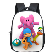 POCOYO Elly Pato Loula Backpack Students School Bags Boys Girls Daily bags