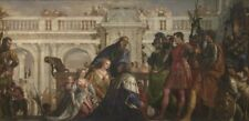 Photo Print Reproduction Family Of Darius Before Alexander Paolo Veronese
