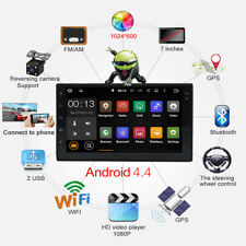 """7"""" Double 2 DIN Car MP5 Player Bluetooth Touch Screen Stereo Radio + Camera LQ1&"""