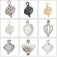 MERZIEs Pearl CAGE Bead U PICK cube teardrop balloon clam shell - SHIPs from USA