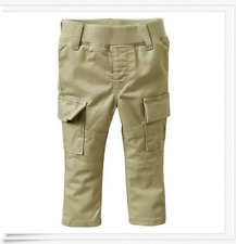 NWT BABY GAP GIRLS SKINNY CARGO GREEN PANTS 0-3 MONTHS NEW FALL WINTER