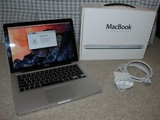 Apple MacBook 13 Inch Aluminum Late 2008 2.4 GHz Intel Core 2 Duo