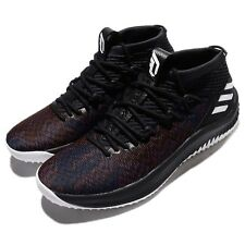 adidas Dame 4 IV Damian Lillard Static Black White Men Basketball Shoes CQ0477