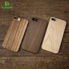 FLOVEME Wood Cover For iPhone 7 iPhone 7 Plus Case 5S SE 5 Natural Bamboo Wooden