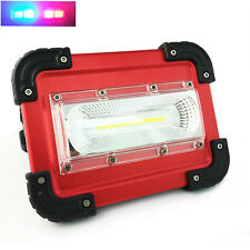 Led work light rechargeable Camping Lantern Flood Light Hand Lamp for Hiking New