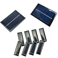 100mA 0.5V/6V 0.6W/1W Epoxy Solar Panel Cell Photovoltaic Battery Charger ATF