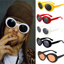 Unique Oval Unisex Sunglasses Designer Eyewear Shades Party Womens Mens Funny
