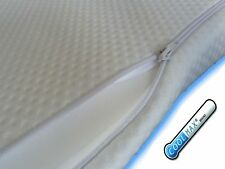 Memory Foam Mattress Topper with  COVER. Coolmax Zipped COVER