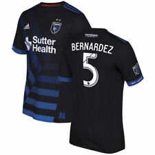 Victor Bernardez San Jose Earthquakes Black 2017 Primary Authentic Jersey