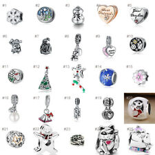 European Charm Alloy Silver Charms Bead Pendant Fit 925 Sterling Bracelets Chain