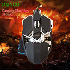 Professional 4800DPI Wired Mechanical Gaming Mouse Adjustable Optical 9 Buttons