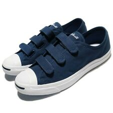 Converse Jack Purcell 3V Canvas Navy White Men Women Shoes Sneakers 160237C