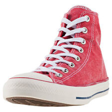 Converse Chuck Taylor All Star Hi Trainers Red White New Shoes