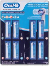 Oral-B PRECISION CLEAN ~ 1 to 8 Replacement Brush Heads Toothbrush ~ Braun Oralb