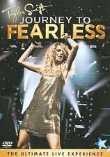 Taylor Swift: Journey to Fearless (DVD, 2011) New Factory Sealed