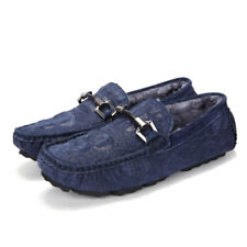 Leather winter shoes new Fashion casual Lightweight Moccasins Driving Shoes 165