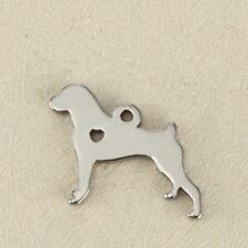 Stainless Steel Cane Corso Pet Dog Charm Pendant, Jewelry Supply, MSA14-2024
