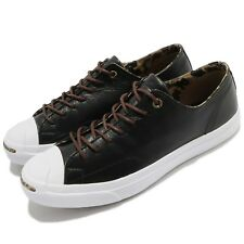 Converse Jack Purcell Jack Black Brown White Men Shoes Sneakers Trainers 160213C