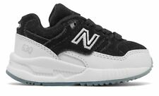 New Balance Kid's 530 Infant Boys Shoes Black with White