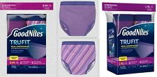 GoodNites Tru-Fit Real Underwear with Nighttime Protection Girl's Starter Pack