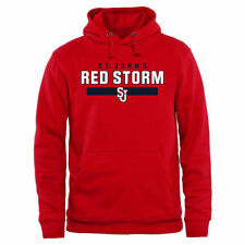 St. Johns Red Storm Scarlet Team Strong Pullover Hoodie - College
