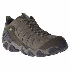 Oboz Sawtooth Umber Brown Mens Nubuck Hiking Lace-up Low-Profile Trail Shoes