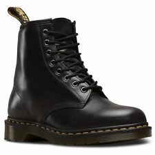 Dr.Martens 1460 8 Eyelet Gunmetal Mens Leather Lace-up AirWair Punk Ankle Boots