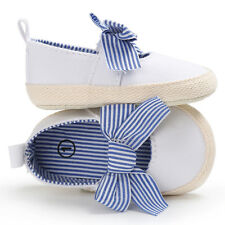 0-18 Months Baby Girls Walking Shoes Infant Kids soft sole Bowknot First Walkers