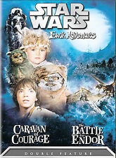 Star Wars Ewok Adventures: Caravan of Courage/ The Battle for Endor (DVD, 2004)