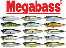 Megabass Pop-X Japanese-Made Topwater Popper 1/4oz Bass Fishing Lure