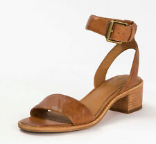 New in Box Frye Womens CINDY 2 PIECE Camel Leather 2 Strap Sandals 3479161-CAM
