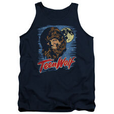 Teen Wolf Movie Painted MOON WOLF Adult Tank Top All Sizes