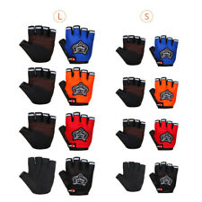 Outdoor Sports Racing Cycling Motorcycle Bike Bicycle Gel Half Finger Gloves S/L