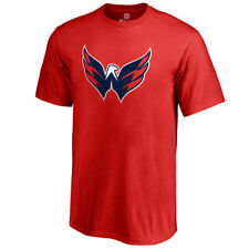 Washington Capitals Youth Red Primary Logo T-Shirt