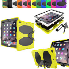 Case Cover For Apple iPad Hybrid Rubber Heavy Duty Shockproof Hard Stand Rugged